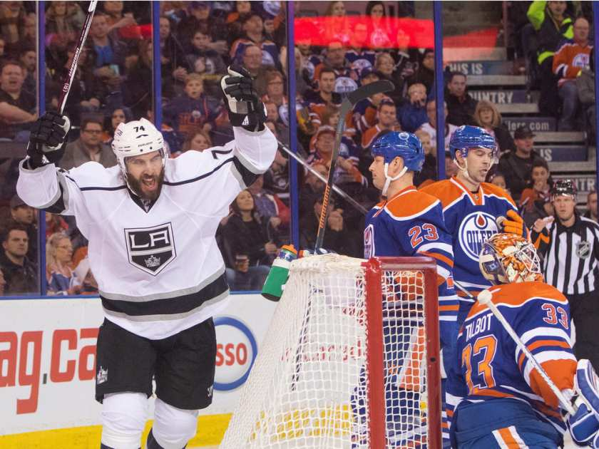 La Kings Beat Oilers 5 2 In Farewell Game At Rexall Place