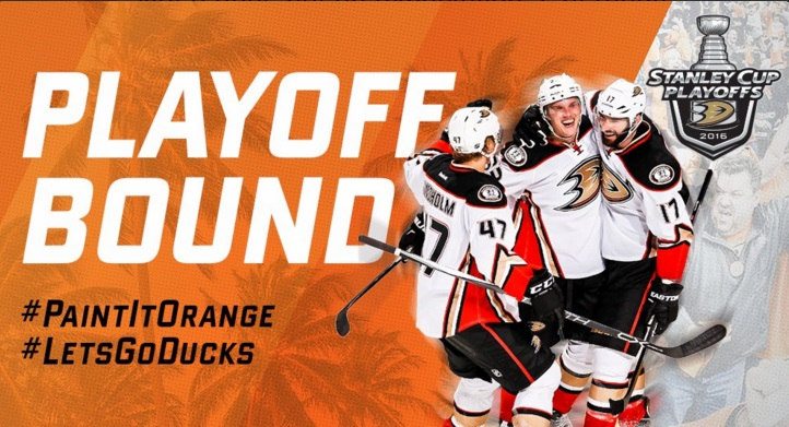 low priced fb39a af348 The Anaheim Ducks fell to the Toronto Maple Leafs on Thursday night but  punched their ticket to the NHL playoffs. Anaheim needed only one point to  clinch a ...
