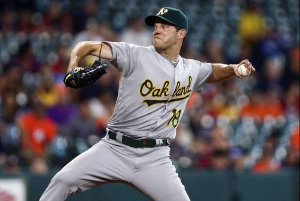 1db824961ad Dodgers Acquire Josh Reddick and Rich Hill From Oakland - CaliSports ...