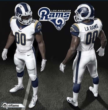 9245bb8eb39 The Los Angeles Rams are going to show off some new looks and a change of  style for 2017. The change is something new, but if some of us can remember  back ...