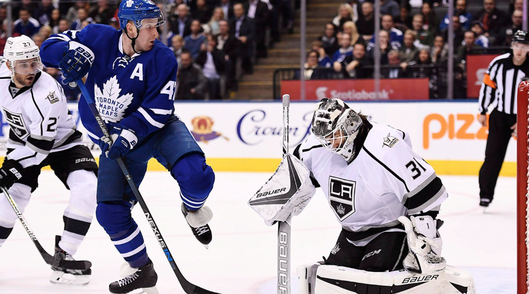 Kings Square Off Against Leafs Calisports News