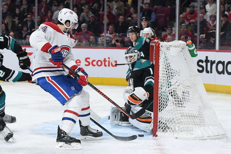 Ducks losing streak reaches five as they fall to Habs, 4-1