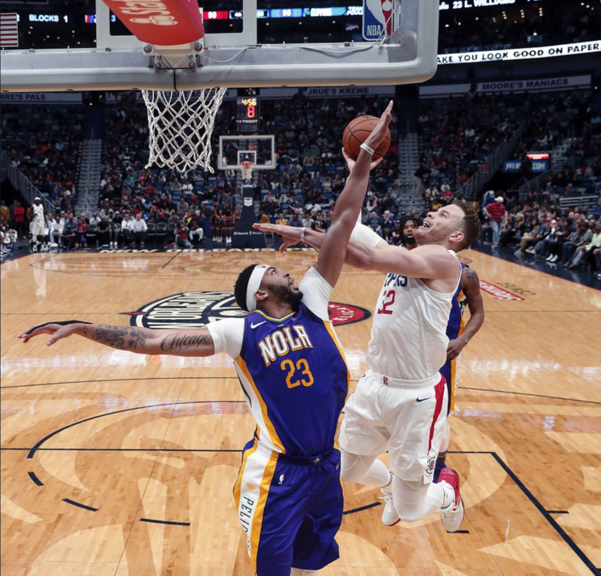 Lakers Acquire Bullock From Pistons For Rookie Mykhailiuk: Clippers Use Big Second Half To Beat Pelicans 112-103